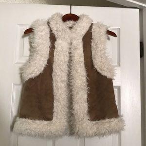 Old Navy furry vest